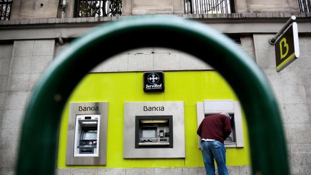 Sucursal de Bankia en Madrid