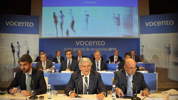 Imagen de archivo de la última junta general de accionistas de Vocento