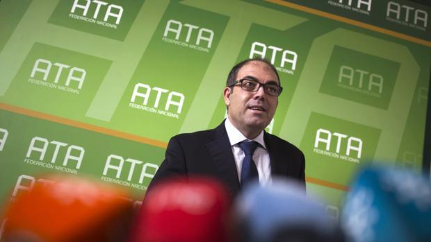 El presidente de la Federación Nacional de Asociaciones de Trabajadores Autónomos (ATA), Lorenzo Amor