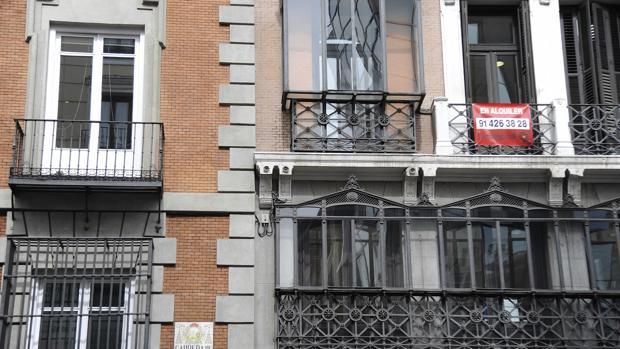 Alquiler de viviendas en la Carrera de San Jerónimo