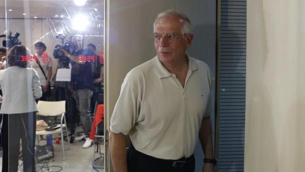 El exministro Josep Borrell (PSC)
