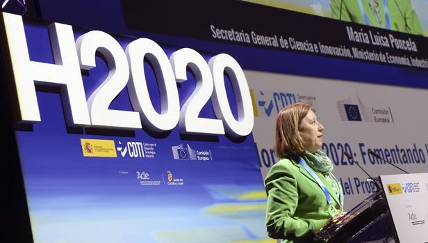 La actual secretaria general de Ciencia e Innovación del Ministerio de Economía, Competitividad e Industria, María Luisa Poncela