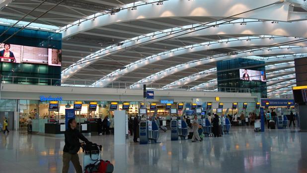 Aeropuerto de Heathrow, en Londres, gestionado por Ferrovial