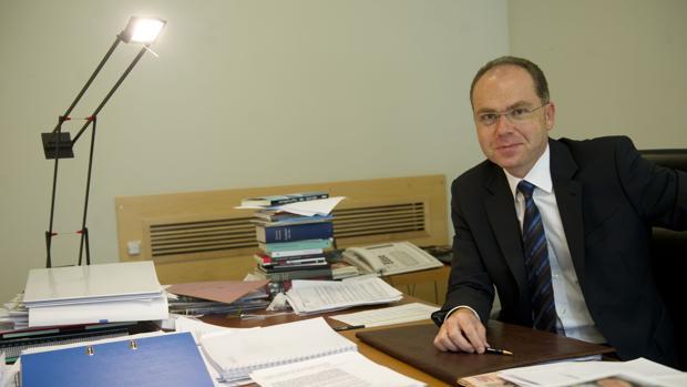 Fotografía de archivo de Juan Bravo Rivera, nuevo presidente de Adif