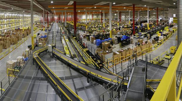 Centro logísticode Amazon en San Fernando de Henares (Madrid)