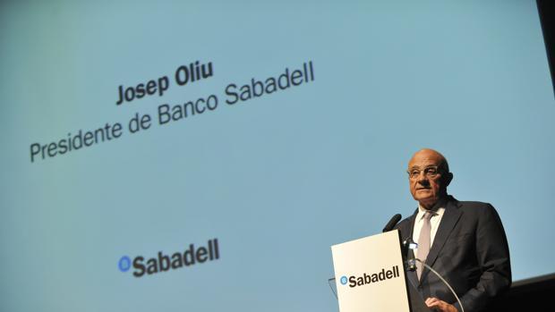 Josep Olliu, presidente del Banco Sabadell