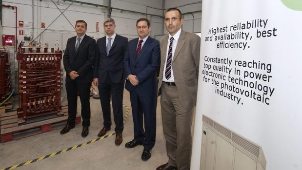 Juan Manuel Carrasco, Eduardo Galván, Sergio Hurtado y Javier Landero