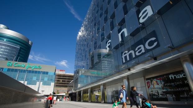 Edificio de Fnac en Madrid