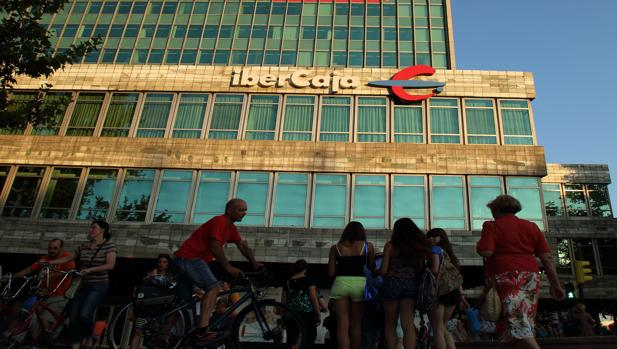 Oficina de Ibercaja en Madrid