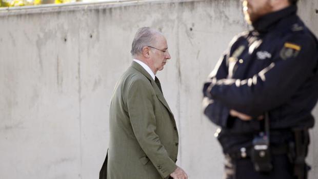 El expresidente de Caja Madrid Rodrigo Rato