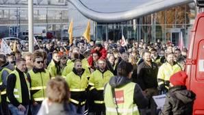 Tercera jornada de huelga de pilotos en Lufthansa con 830 vuelos cancelados