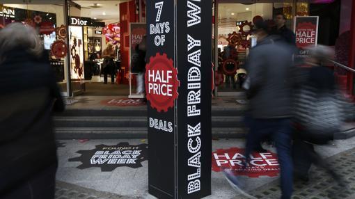 El Black Friday también se celebra en ciudades como Londres