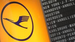 Lufthansa cancelará unos 1.700 vuelos este martes y miércoles por la huelga de sus pilotos
