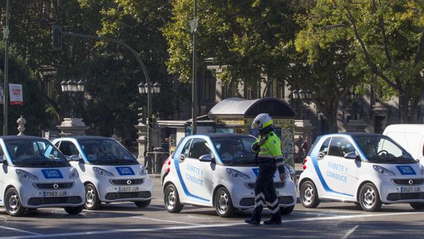 Imagen de la presentación de Car2go en Madrid hace un año