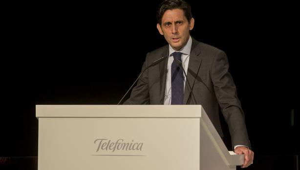 José María Álvarez Pallete, consejero delegado de Telefónica