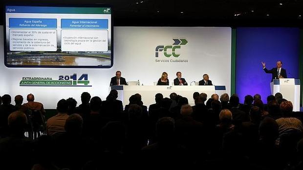 Junta de accionista de FCC de 2014