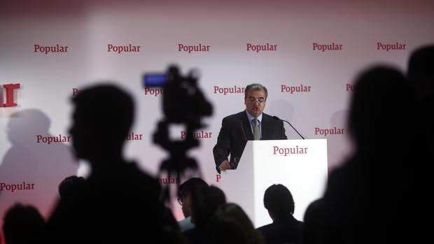 Ángel Ron hasta ahora presidente de Banco Popular