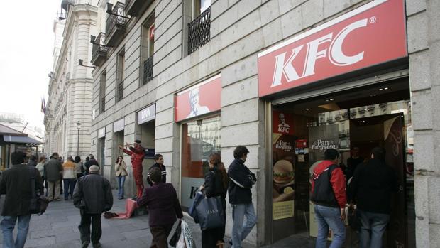 Local de KFC situado en Gran Vía