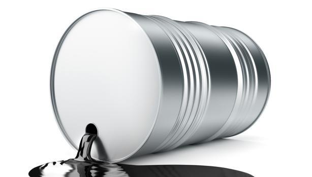 El barril de Brent se ha depreciado un 4,3% desde el máximo anual de 57,89 dólares