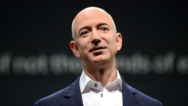 eEl fundador y CEO de Amazon, Jeff Bezos
