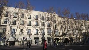 Calle Serrano de Madrid