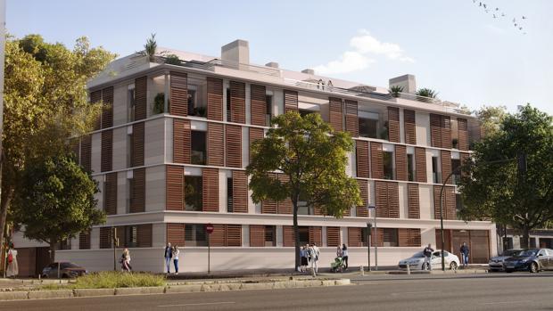 Caixabank promueve 25 viviendas en la calle torneo for Pisos caixabank