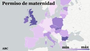 El permiso de maternidad en España es de los más cortos de la UE