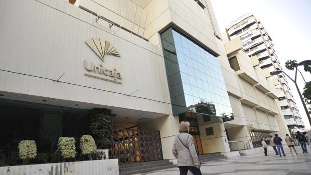 Sede de Unicaja Banco en Málaga