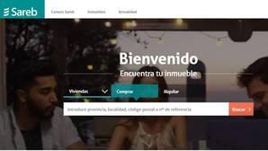 Página web de la Sareb («banco malo»)