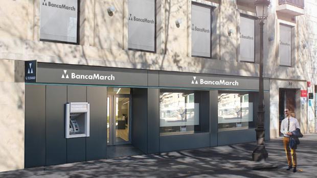 Banca march abrir una oficina en la antigua tienda de for Oficina virtual sevilla