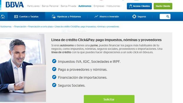 Click pay en l nea con tu empresa for Oficinas bbva almeria