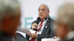 El secretario general de la Organización para el Desarrollo y Cooperación Económica (OCDE), Ángel Gurría