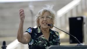 La alcaldesa del Ayuntamiento de Madrid, Manuela Carmena