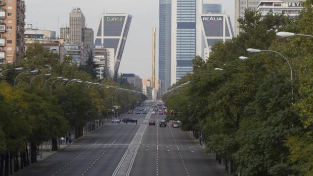 El paseo de la Castellana, la calle que más vale de Madrid