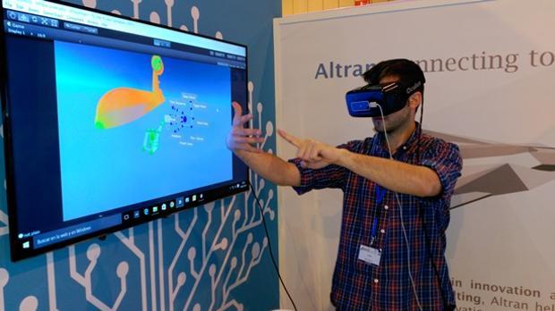 La realidad virtual es parte de la fábrica del futuro que se perfila en el centro Aicam de Cádiz