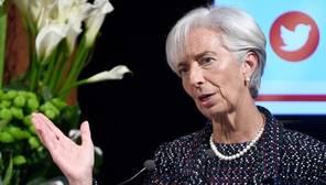 Chirstine Lagarde, directora gerente del FMI