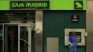 Un cajero de Caja Madrid, antes de convertirse en Bankia