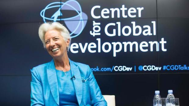 Christine Lagarde, directora del FMI