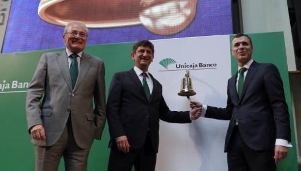 Debut de Unicaja en Bolsa