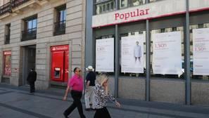 Oficinas de Popular y Santander