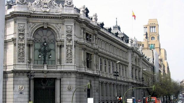 Sede del Banco de España, en Madrid