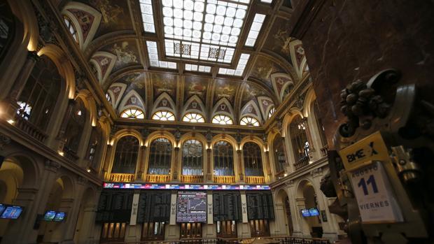Imagen de la Bolsa española