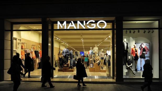 Establecimiento de Mango en Barcelona