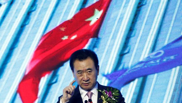 Wang Jianlin es presidente de Wanda, propietaria del 20% del Atlético de Madrid