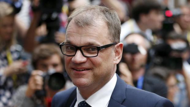 El primer ministro de Finlandia, Juha Sipila
