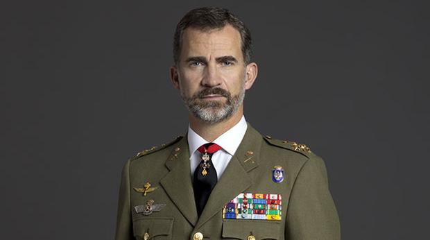 Retrato del Rey de España Don Felipe VI