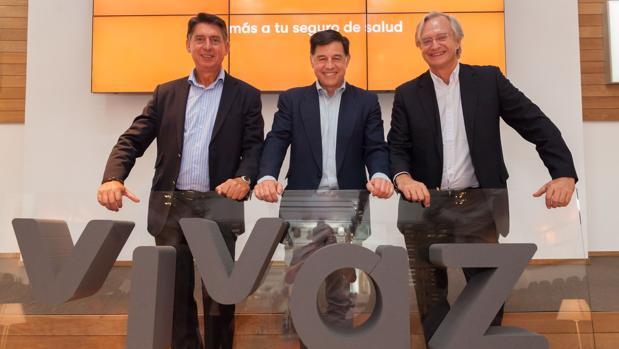 La dirección de Línea Directa en la presentación de Vivaz