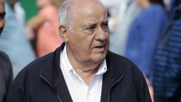 El fundador de Inditex, Amancio Ortega