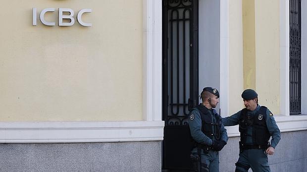 Registro de la oficina de ICBC en Madrid en febrero de 2016