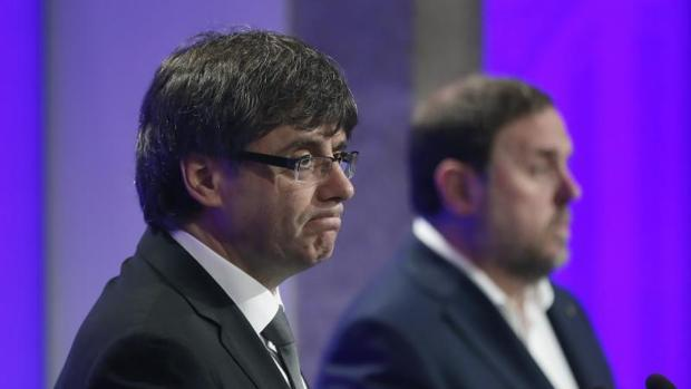 El presidente de la Generalitat de Cataluña, Carles Puigdemont